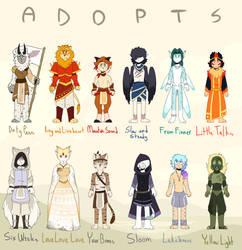 (1/12) My Head is an Animal Adopts by Rhi-The-Hybrid