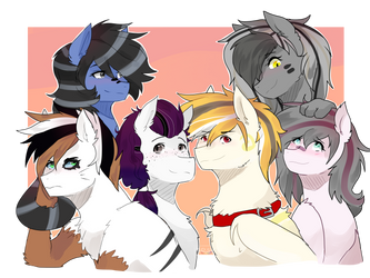 cousins and brothers by Nederside