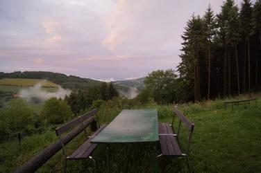 peaceful evening by yury-n