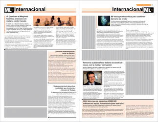 Newspaper Design. Internal pag by SimonTroncoso