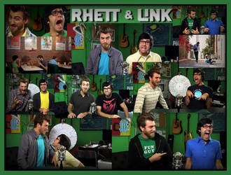 My Heroes....Rhett and Link by I-Clove