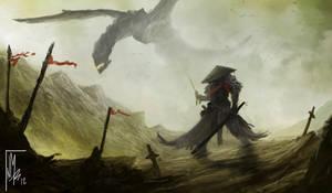 DRAGON SAMURAI by thatnickid