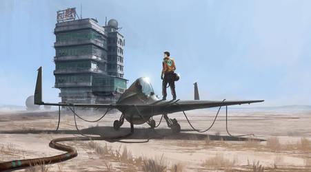 Ship In Da Desert by thatnickid