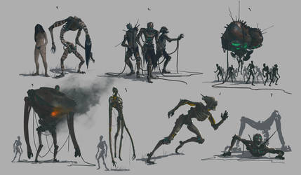 Robot zombies character sheet by thatnickid