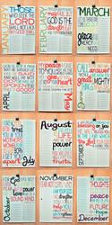 2011 Bible Verse Calendar 2 by lizzAy