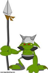 One Ring 4: Goblin Lacky by LegendaryFrog