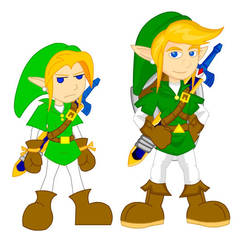 Old and New: Link by LegendaryFrog