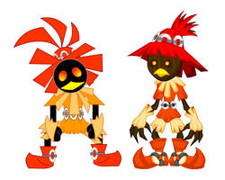 Old and New: Skull Kid by LegendaryFrog