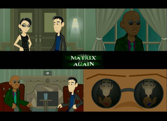 The Matrix Has You 3 Screens by LegendaryFrog