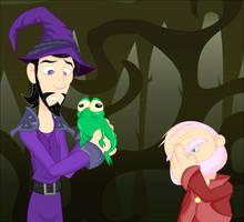 Legends: I Named the Frog by LegendaryFrog