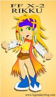 FFX-2:  Rikku by LegendaryFrog