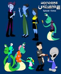 Wonders: Episode 1 Extras by LegendaryFrog