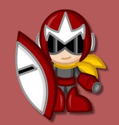 Chibi Protoman by LegendaryFrog