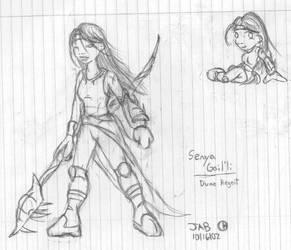 Senya sketch by LegendaryFrog