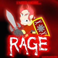 I need more RAGE by LegendaryFrog