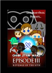 Chibi Star Wars III Poster by LegendaryFrog