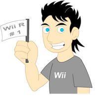 Wii R Number 1 by LegendaryFrog