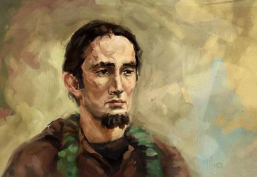 Miko - portrait by jokov