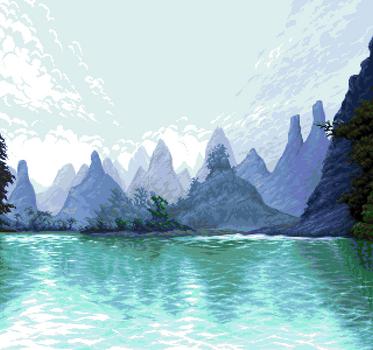 Pixel-art - 'Dream' by jokov