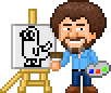 Bob Ross by FiratsPixels