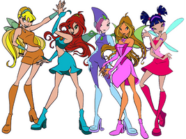The Winx Club by bugs0235