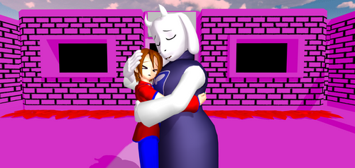 Toriel's Comfort by Mario-McFly