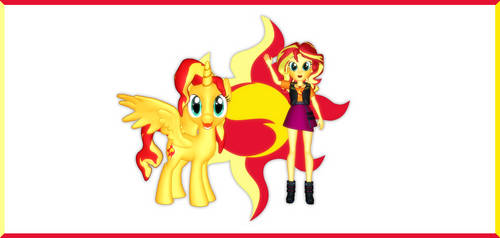 Sunset Shimmer Day Wallpaper by Mario-McFly