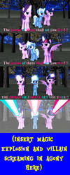 The Power Of Three Shall Set You Free! by Mario-McFly