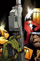 Judge Dredd by nelsondaniel