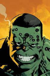 Indestructible Hulk 20 Cover color by nelsondaniel