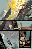 Wild Blue Yonder issue 6 page 8 Color by nelsondaniel