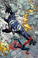 Venom the Spaceknight cover 11 Color by nelsondaniel