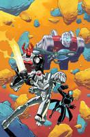 Micronauts: First Strike #1 Cover by nelsondaniel