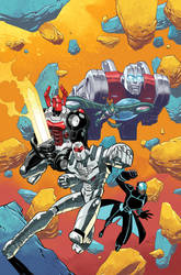 Micronauts: First Strike #1 Cover by nelsondaniel