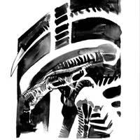Inktober #7 by nelsondaniel