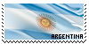 Argentina Stamp by MiharaEmiko