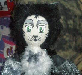 Mr. Mistoffelees Doll by JarethsGoblinQueen
