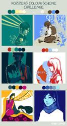 colour scheme challenge by kageno6