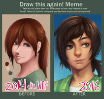 Draw This Again 2014 -2016 by Shi-Yin