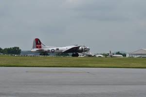 B-17 taking off by Hero-Ritsuka