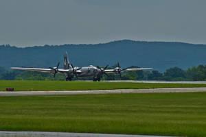 B-29 FIFI ready for take off by Hero-Ritsuka