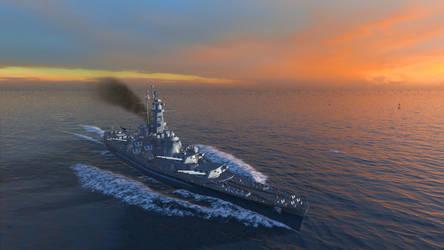 USS Alabama by Hero-Ritsuka