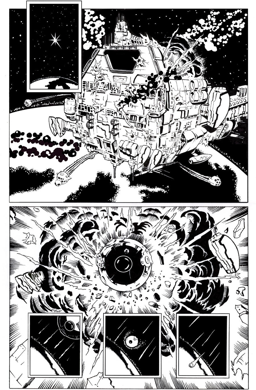 Space Explosion Inks by Bienvenu