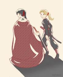 Kara and Shia by Kaytropolist