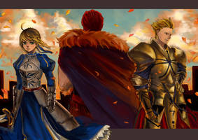FateZero - The Three Kings by cyrusHisa
