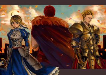 FateZero - The Three Kings by cyrusHisa