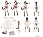 Commission - Alumina Character Sheet by cyrusHisa