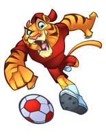 FCN  FOOTBALL MASCOT by zaratus