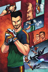 Spanish Football Book page 26 by zaratus