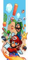 Mario Bros by zaratus